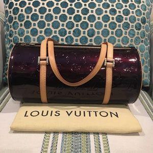 Louis Vuitton Vernis Bedford Amarante - EXCELLENT